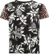 Saint Laurent pineapple print T-shirt - men - Cotton - XS