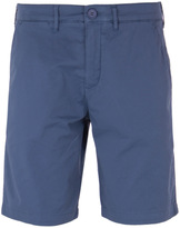 Lyle & Scott Moonlight Blue Garment Dye Cotton Shorts
