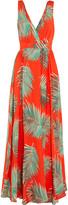 Paul & Joe Printed silk-crepe maxi dress