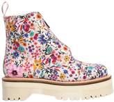 Dr. Martens 40mm Sinclair Floral Print Cotton Boots