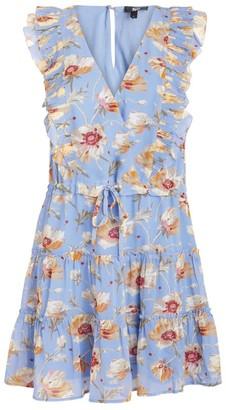 Paige Floral Barbarella Dress