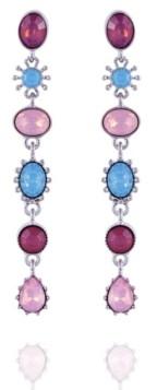 Nanette Lepore Extra Celestial Linear Earrings
