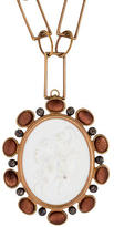 Bottega Veneta x KPM Porcelain Cameo Medallion Necklace