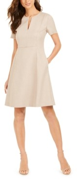 Elie Tahari Ariel Keyhole Dress