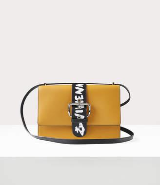 Vivienne Westwood Alex Crossbody Bag Yellow/Graffiti