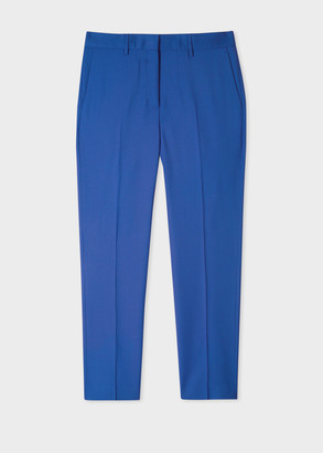 Paul Smith A Suit To Travel In - Women's Slim-Fit Indigo Wool Pants