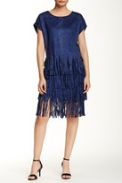 Romeo & Juliet Couture Faux Suede Fringe Skirt