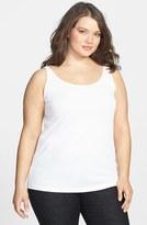 Eileen Fisher Plus Size Women's Long Silk Tank
