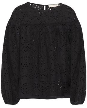 Vanessa Bruno Broderie Anglaise Cotton Blouse