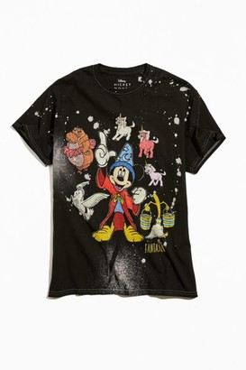Urban Outfitters Disney Fantasia Mickey Mouse Exclusive Tie-Dye Tee