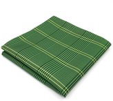 Shlax & Wing Shlax&Wing Checkered Pocket Square For Men Hanky Plaids Business