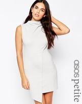 Asos High Neck Mini Pencil Dress