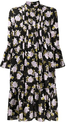 Erdem Wilford silk floral-print dress
