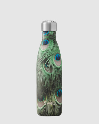 Swell Black Water Bottles - Insulated Bottle Flora & Fauna Collection 500ml Peacock - Size One Size at The Iconic