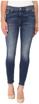 7 For All Mankind The Ankle Skinny w/ Distress in Manchester Square