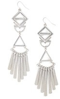 Adia Kibur Women's Geometric Drop Earrings