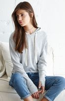 La Hearts Cropped Pullover Hoodie