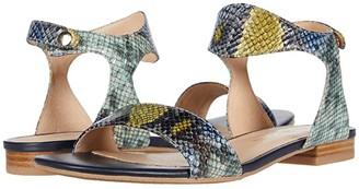 Jack Rogers Gwen Wave Sandal (Blue) Women's Shoes