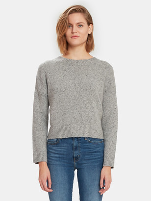 Vince Double Seam Crewneck Cashmere Sweater