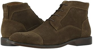 Stacy Adams Wexford Cap Toe Chukka Boot (Tobacco Suede) Men's Shoes