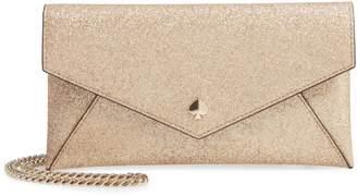 Kate Spade Burgess Court - Glitter Leather Crossbody Clutch
