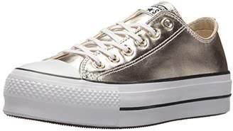 Converse Chuck Taylor All Star Metallic Platform Low Top Sneaker