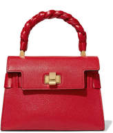 Miu Miu Miu Click Textured-leather Tote