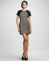 Tracy Reese Tweed Panel Dress