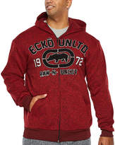 Ecko Unlimited Unltd Lightweight Fleece Jacket - Big and Tall