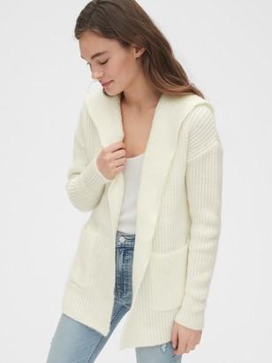 Gap Ribbed Longline Cardigan Sweater