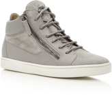 Giuseppe Zanotti Sloane Suede and Leather Sneakers