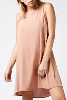 Azalea Solid Flare Dress