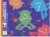 Djeco Trio Monsters Card Game