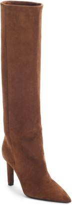 Saint Laurent Kate Straight Knee High Boot