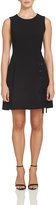 1 STATE 1.State Cross Tie Black Dress