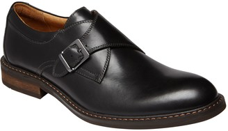 Vionic Men's Leather Bowery Monk Strap Dress Sh oes - Anders