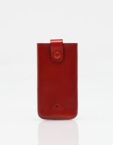 Il Bussetto Iphone Case in Coral Red