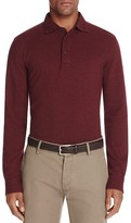 Brooks Brothers Knit Oxford Long Sleeve Regular Fit Polo Shirt