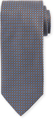 Brioni Men's Basketweave Silk Tie