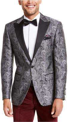 Tallia Men Slim-Fit Paisley Dinner Jacket