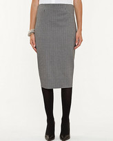Le Château Houndstooth Ponte Pencil Skirt