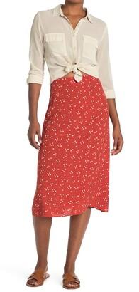 Madewell Printed Midi Skirt