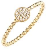 Nordstrom Bony Levy 'Aurora' Diamond Pavé Circle Ring Exclusive)