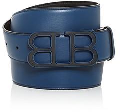 Bally Men's Britt Mirror B Reversible Leather Belt