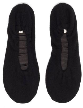 Skin Cashmere Ballet Slippers - Black