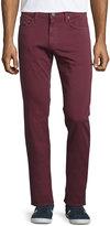 J Brand Tyler Slim-Fit Jeans, Claret