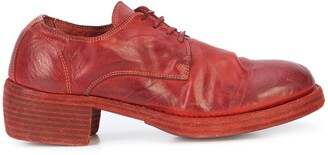 Guidi Lace-Up Heeled Shoes