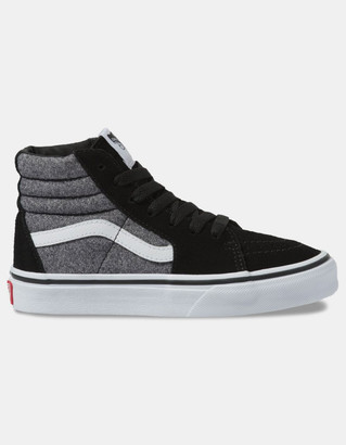 Vans Suede Sk8-Hi Suiting & Black Kids Shoes