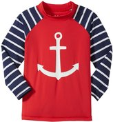 Hatley Anchor Rash Guard (Toddler/Kid) - Red - 6