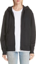 Acne Studios Ferris Face Patch Zip Hoodie